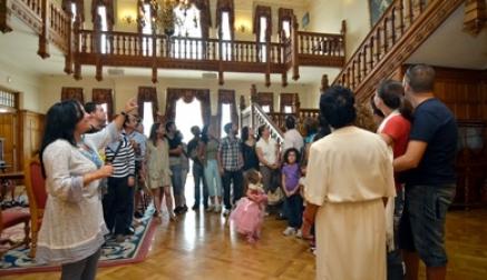 El Palacio de la Magdalena inicia su horario de verano con visitas los fines de semana