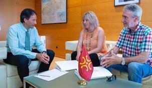 Obras Públicas colaborará con el Ayuntamiento de Polanco en la construcción del parque de Prado Infante