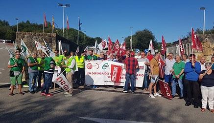 Los sindicatos exigen medidas urgentes contra los impagos de OMBUDS Seguridad