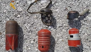 Localizan en una casa de Potes tres granadas de la Guerra Civil