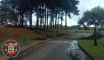 Santander pone en marcha un dispositivo de personal de emergencia para subsanar los efectos del temporal