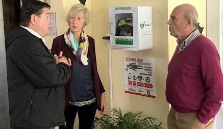 Cantur instala nueve desfibriladores en sus instalaciones