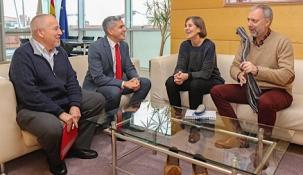 Renovado el compromiso del Gobierno con la UIMP por el que se aportan 400.000 euros