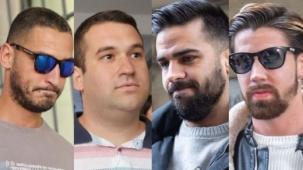 """La Fiscalía pide 7 años de prisión para cuatro jóvenes sevillanos que formaron parte de """"La Manada"""""""
