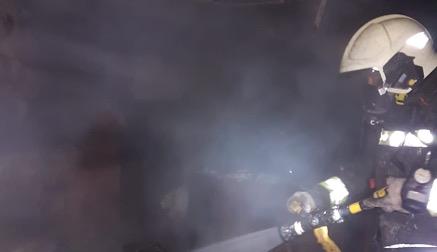 Extinguido un incendio en una vivienda en Requejo que no deja heridos