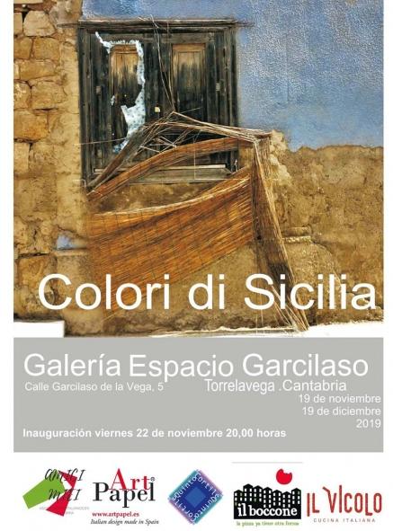 """""""Colori di Sicilia"""" muestra que se inaugura este viernes en el espacio Garcilaso de Torrelavega"""