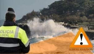 Activado en Santander el dispositivo preventivo por alerta naranja en la costa