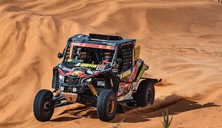 Balance positivo de Chus Puras en la primera semana de Dakar