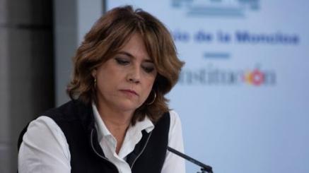 Dolores Delgado, ex-ministra de Justicia, posible Fiscal General del Estado