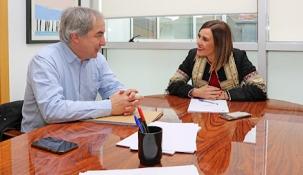Fernández ofrece apoyo a Potes en los trámites para solicitar al Estado las ayudas por las inundaciones