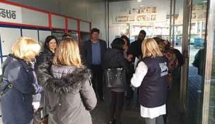 Cayón recibe a los participantes en el proyecto Erasmus+
