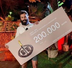 """El reinosano Jorge Pérez triunfa en """"Supervivientes"""" y de su premio 80.000 euros serán para Hacienda"""