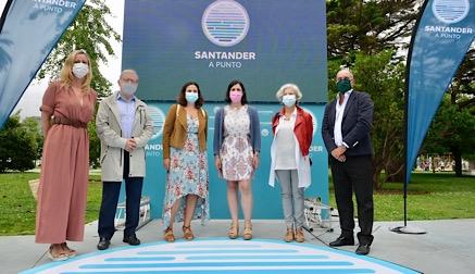 """Santander se prepara para un verano """"diferente y responsable"""""""