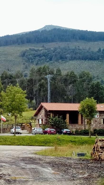 El Vidrio visto desde el alto de San Cipriano en el municipio de Cartes