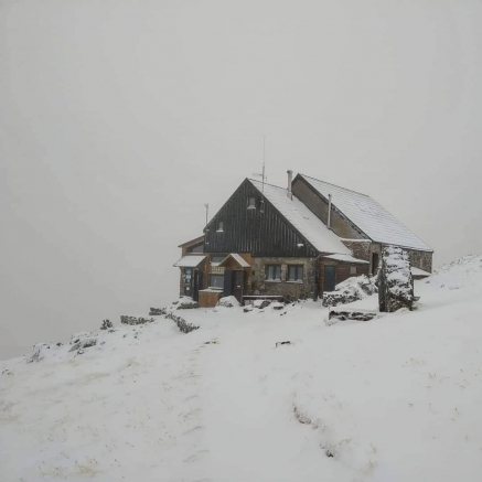 La nieve llega a Picos de Europa
