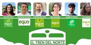 EQUO instará en un debate a recuperar el tren en Cantabria como nexo de unión entre poblaciones