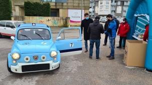 Rallye solidario en Piélagos en favor del Banco de Alimentos de Cantabria