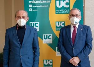 El consejero de Industria de Cantabria confirma el desarrollo de la Cátedra de Innovación de la UC