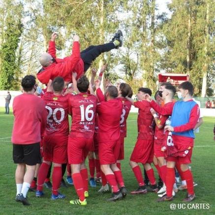 El UC Cartes termina quinto y logra una nueva temporada en Tercera