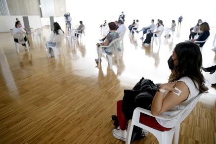Vacunadas 2.562 personas en el dispositivo instalado en el Palacio de Exposiciones de Santander