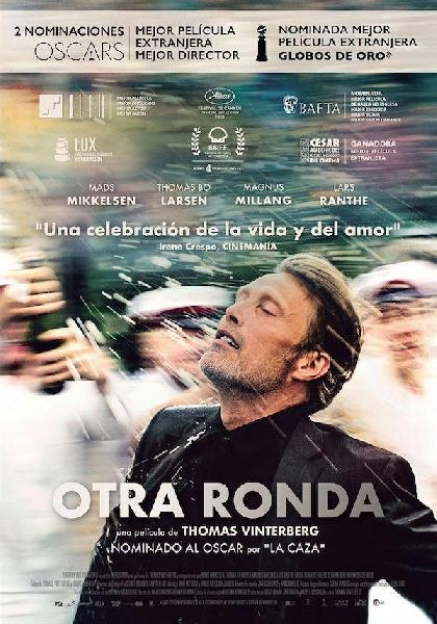 """Otra ronda"" un drama sobre el alcoholismo"