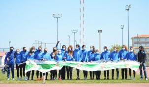 El equipo de atletismo femenino de Piélagos, campeón de la VIII Liga cántabra