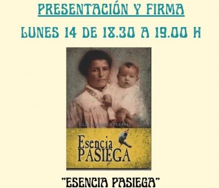 """Gilda Ruiloba presenta este lunes su obra """"Esencia Pasiega"""" en la 40 Feria del Libro de Santander"""