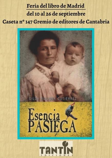 """Gilda Ruiloba con su obra """"Esencia Pasiega"""" en la Feria del Libro de Madrid"""