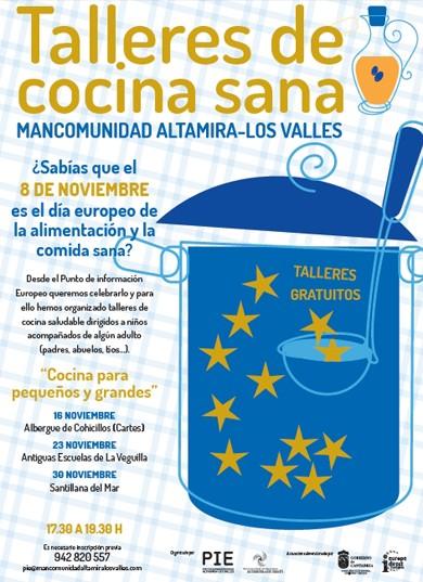 Cantabria 24 horas talleres de cocina para ni os - Talleres de cocina en valencia ...